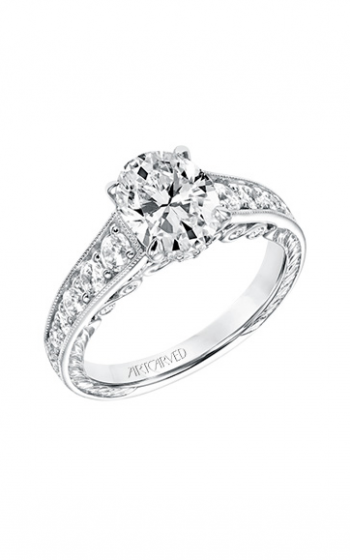 ArtCarved Vintage Engagement ring 31-V693GVW-E product image
