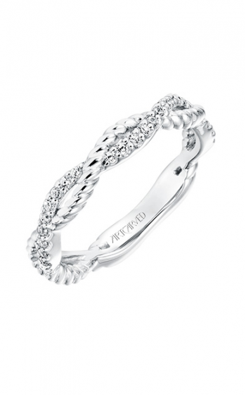 ArtCarved Contemporary Wedding band 31-V699W-L product image
