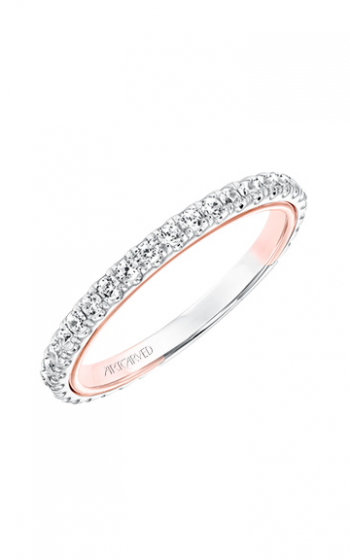 ArtCarved Contemporary Wedding band 31-V708R-L product image