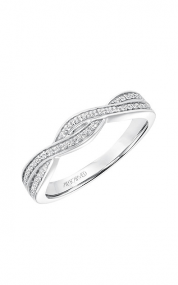 ArtCarved Contemporary Wedding band 31-V685W-L product image