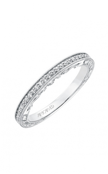 ArtCarved Vintage Wedding band 31-V687W-L product image