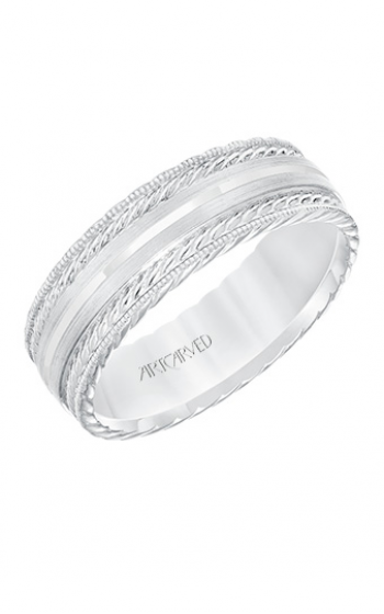 ArtCarved Engraved Wedding band 11-WV8641W7-G product image