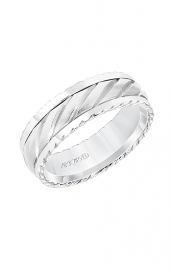 ArtCarved Engraved Wedding band 11-WV8725W7-G product image