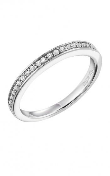 ArtCarved Contemporary Wedding band 31-V283W-L product image