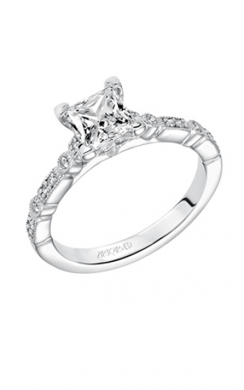 ArtCarved Classic Engagement ring 31-V641ECW-E product image