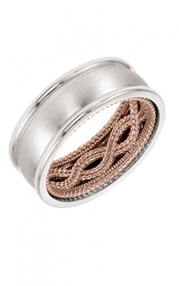 ArtCarved Contemporary Wedding band 11-WV03WR85-G product image