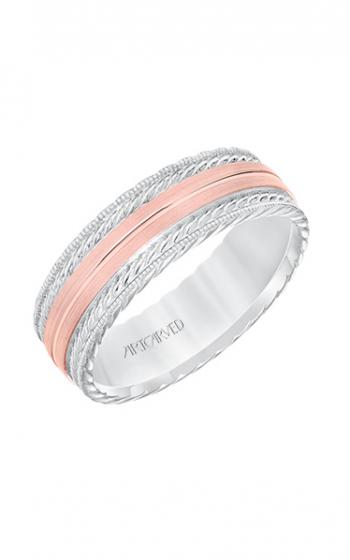ArtCarved Engraved Wedding band 11-WV8641WR7-G product image