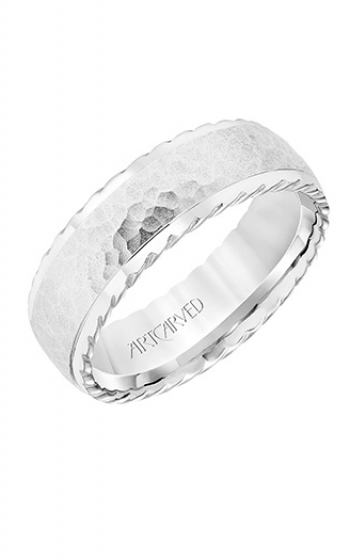 ArtCarved Engraved Wedding band 11-WV8727W7-G product image