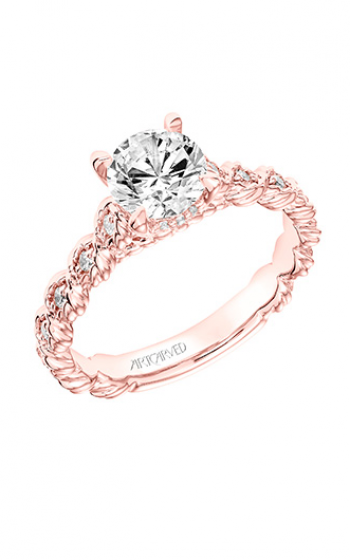 ArtCarved Contemporary Engagement ring 31-V755ERRR-E product image