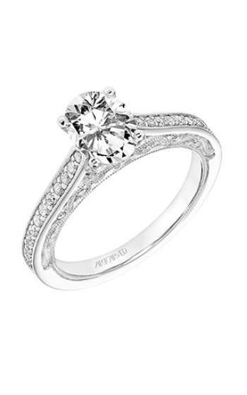 ArtCarved Vintage Engagement ring 31-V762GVW-E product image