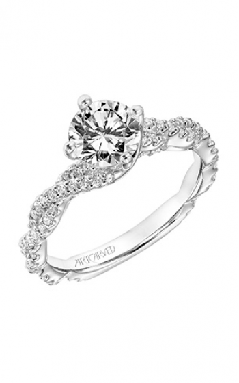 ArtCarved Contemporary Engagement ring 31-V772ERW-E product image