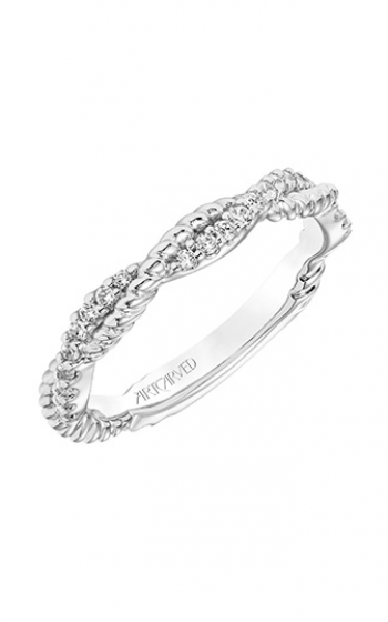 ArtCarved Contemporary Wedding band 31-V757W-L product image