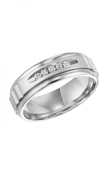 ArtCarved Classic Wedding band 22-V7441W-G product image