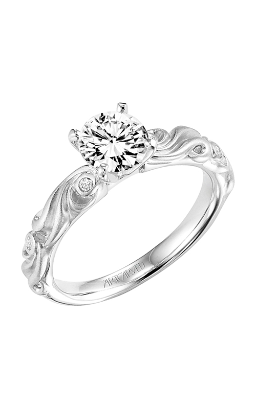 ArtCarved Vintage Engagement ring 31-V100ERW-E product image