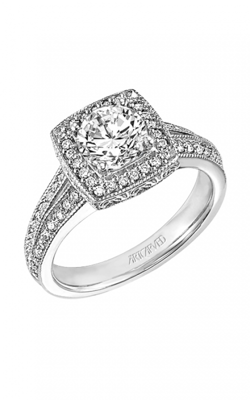 ArtCarved Vintage Engagement ring 31-V245ERW-E product image