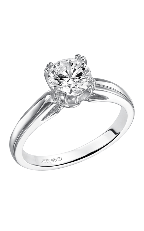 Artcarved DAHLIA Solitare Engagement Ring 31-V120ERW-E product image