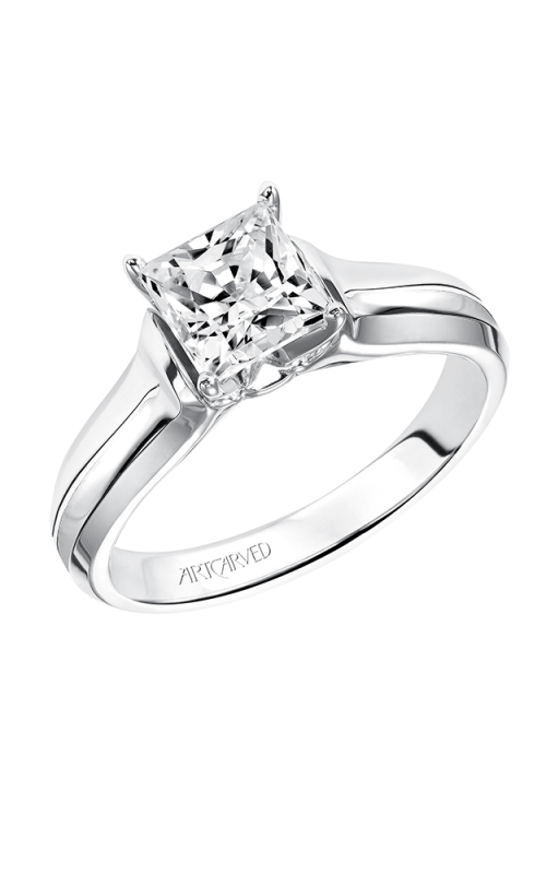 ArtCarved Classic Engagement ring 31-V126FCW-E product image
