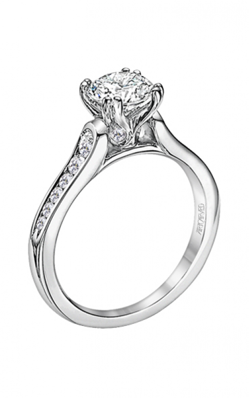 ArtCarved Classic Engagement ring 31-V166ERW-E product image