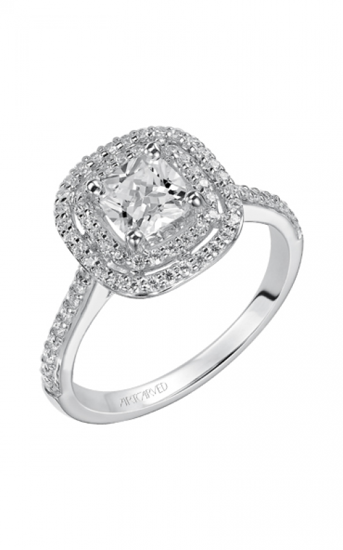ArtCarved Classic Engagement ring 31-V429EUW-E product image