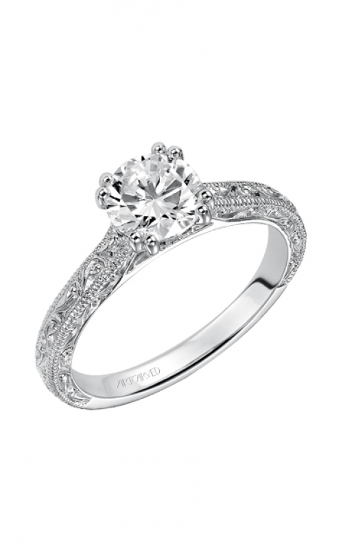 ArtCarved Vintage Engagement ring 31-V432ERW-E product image