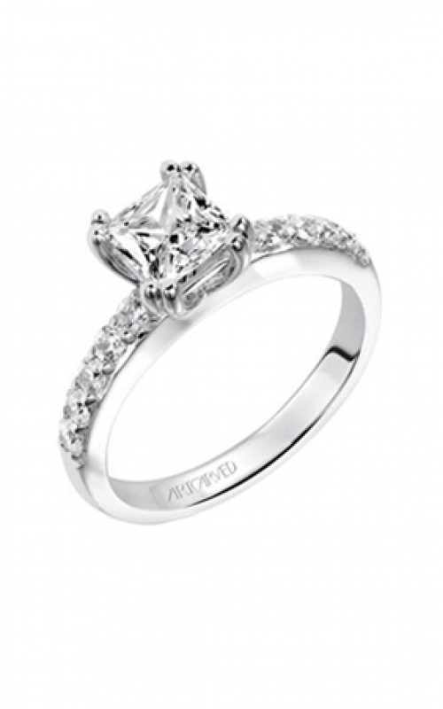 ArtCarved Classic Engagement ring 31-V223ECW-E product image
