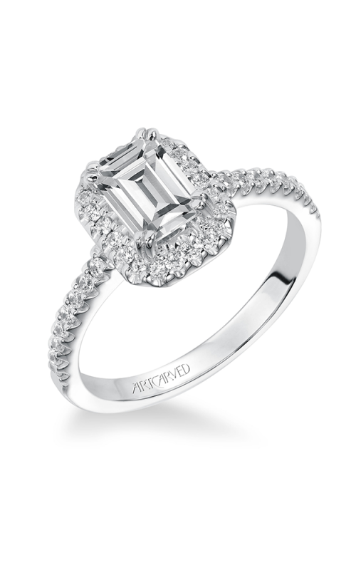 ArtCarved Classic Engagement ring 31-V291EEW-E product image