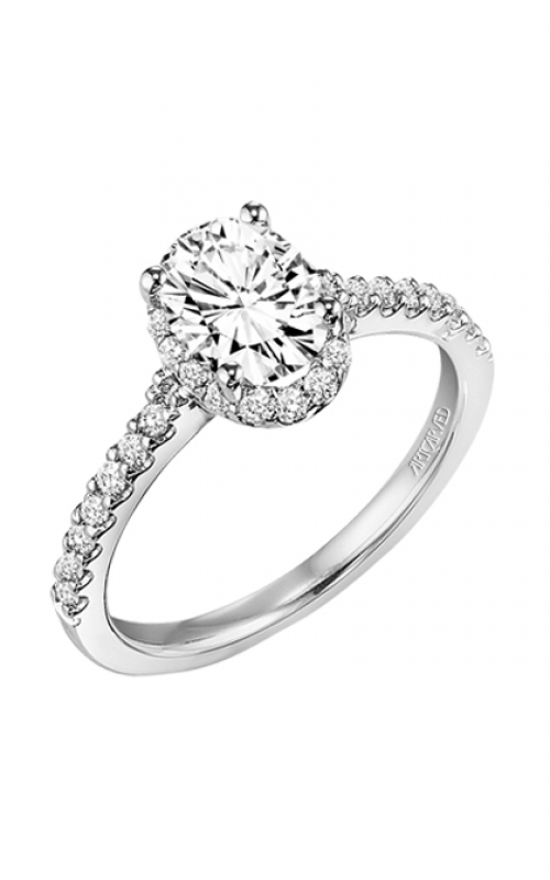 ArtCarved Classic Engagement ring 31-V323EVW-E product image