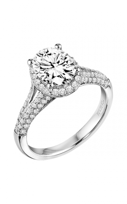 ArtCarved Classic Engagement ring 31-V327GVW-E product image