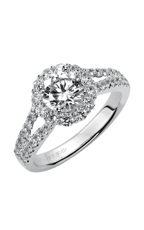 ArtCarved Classic Engagement ring 31-V331ERW-E product image