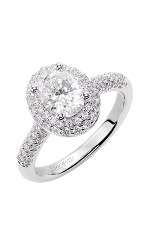 ArtCarved Classic Engagement ring 31-V378EVW-E product image