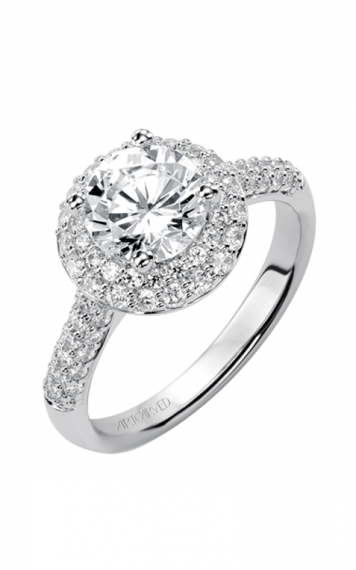 ArtCarved Classic Engagement ring 31-V378FRW-E product image