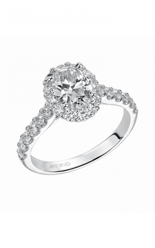 ArtCarved Classic Engagement ring 31-V439EVW-E product image