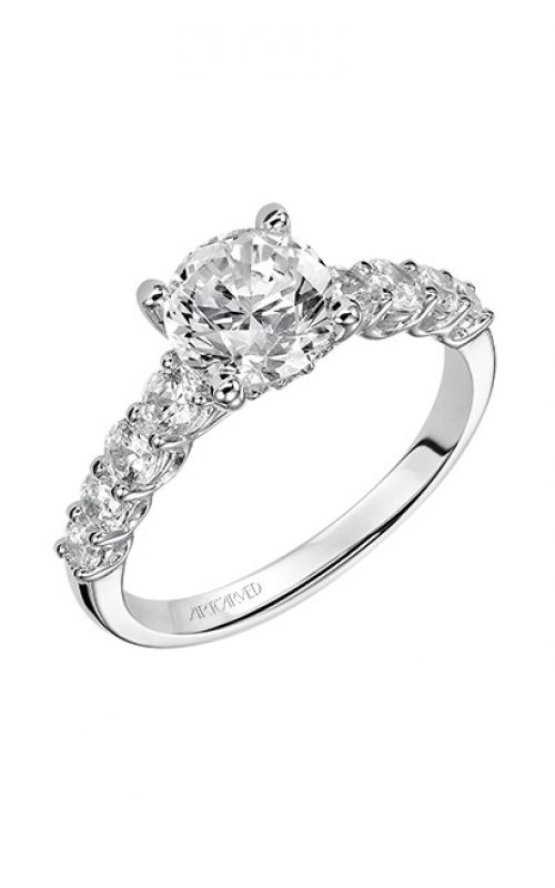 Artcarved LEANDRA Engagement Ring White Gold 31-V508FRW-E product image