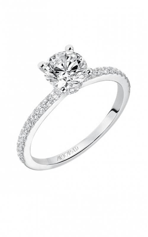 ArtCarved Classic Engagement ring 31-V544ERW-E product image