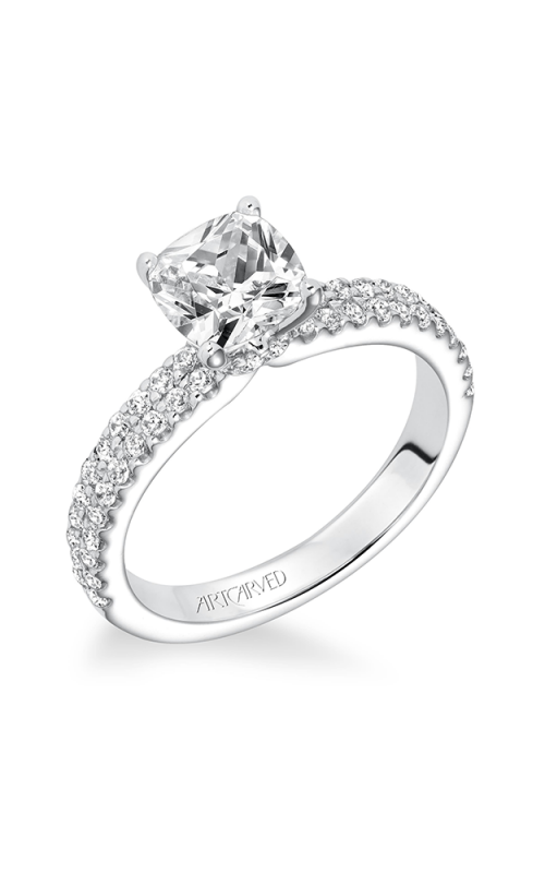 ArtCarved Classic Engagement ring 31-V619GUW-E product image