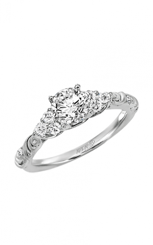 Artcarved GOSSIMER Engagement Ring 31-V105ERW-E product image