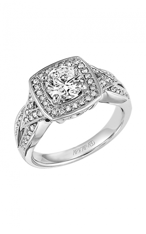 ArtCarved Vintage Engagement ring 31-V282GRW-E product image