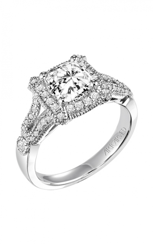 ArtCarved Vintage Engagement ring 31-V354FUW-E product image
