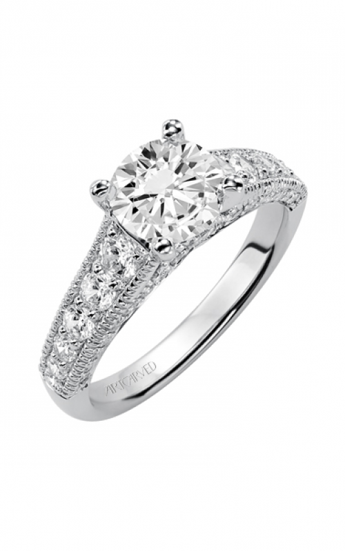 ArtCarved Vintage Engagement ring 31-V369FRW-E product image