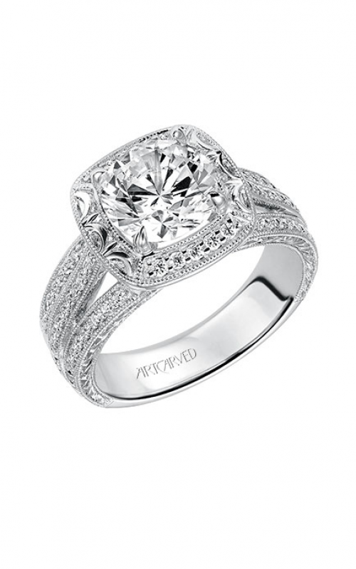 ArtCarved Vintage Engagement ring 31-V521HRW-E product image