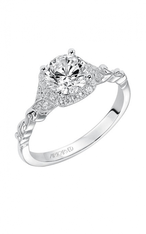 ArtCarved Vintage Engagement ring 31-V525ERW-E product image