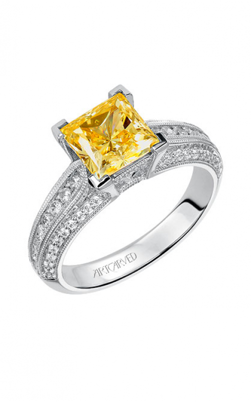ArtCarved Vintage Engagement ring 31-V538HCW-E product image