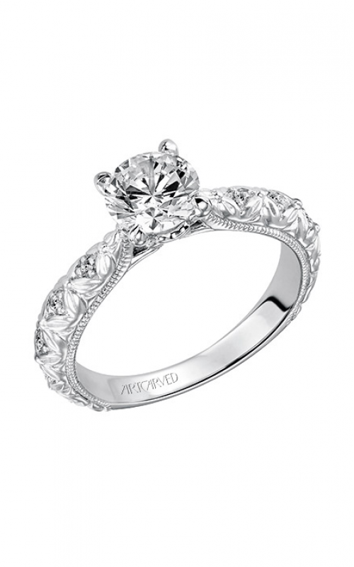 ArtCarved Vintage Engagement ring 31-V486ERW-E product image