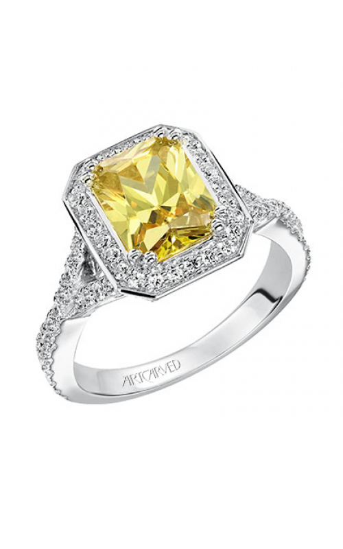 ArtCarved Vintage Engagement ring 31-V505HEW-E product image