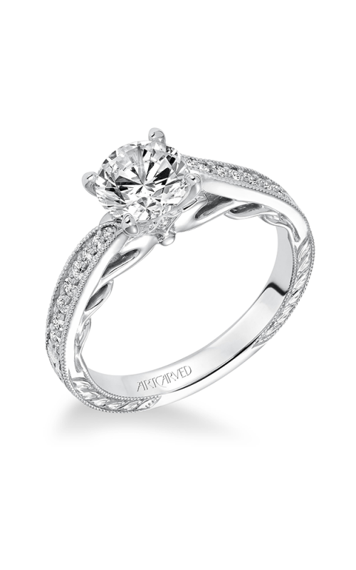 ArtCarved Vintage Engagement ring 31-V624ERW-E product image