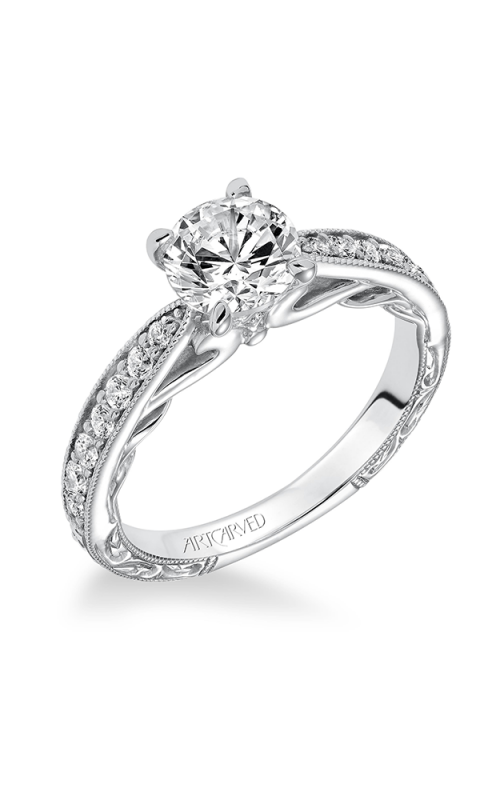 Artcarved GENEVA Engagement Ring 31-V626ERW-E product image