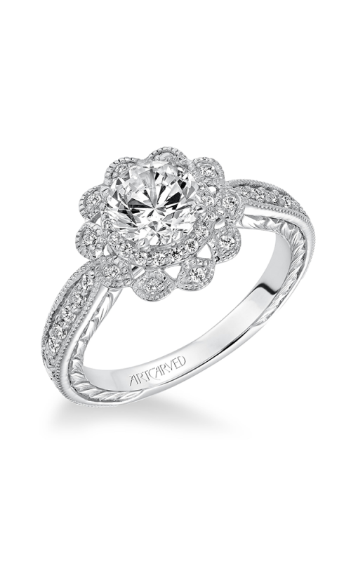 ArtCarved Vintage Engagement ring 31-V627ERW-E product image