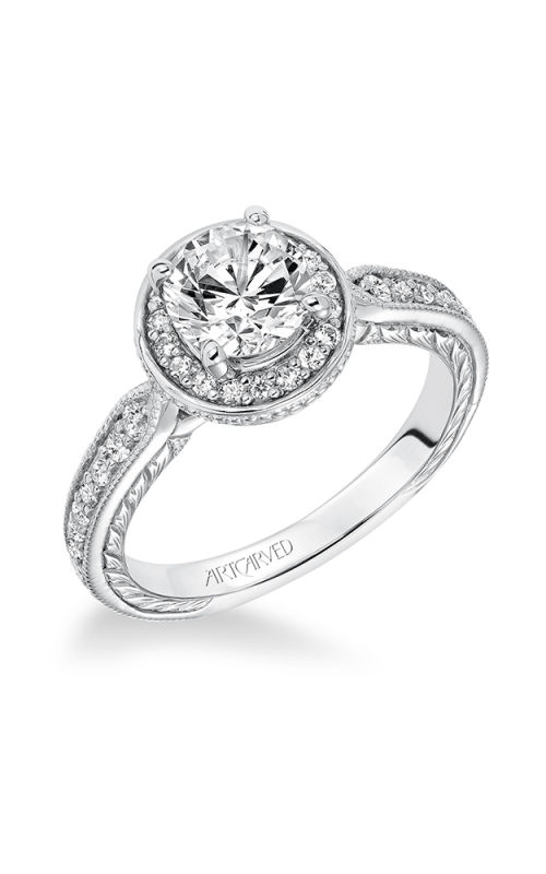 ArtCarved Vintage Engagement ring 31-V628ERW-E product image