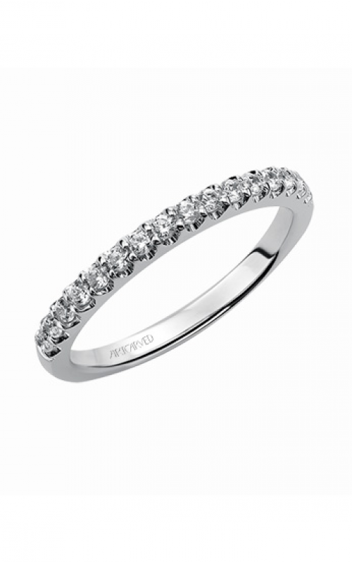 ArtCarved Contemporary Wedding band 31-V342W-L product image