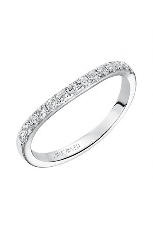 ArtCarved Contemporary Wedding band 31-V540W-L product image